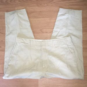 Polo by Ralph Lauren Linen Khaki Pants